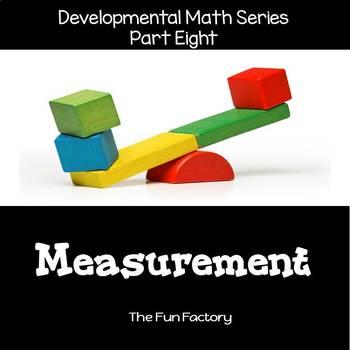 Developmental  Math Skills {PK/K} - Measurement