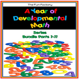 Developmental Kindergarten Math Skills  The Bundle