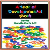 Developmental Kindergarten Math Skills  The Bundle