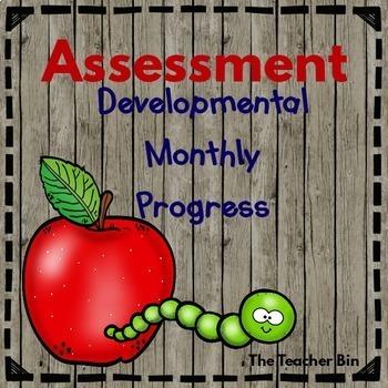 Kindergarten - Special Education -Assessing Monthly- Devel
