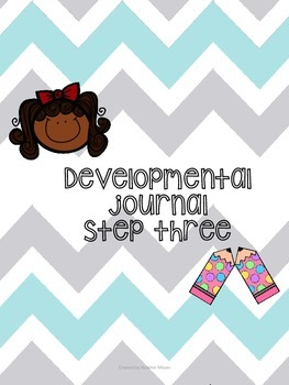 Developmental writing journal step 3 for beginning writers