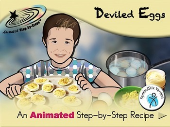 Deviled Eggs - Animated Step-by-Step Recipe SymbolStix