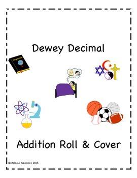 Dewey Decimal Addition Roll and Cover