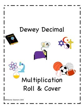 Dewey Decimal Multiplication Roll and Cover