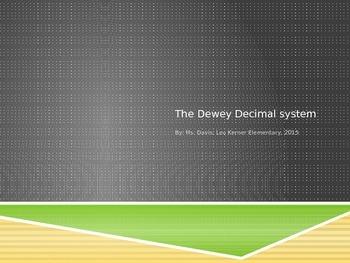 Dewey Decimal System Power Point