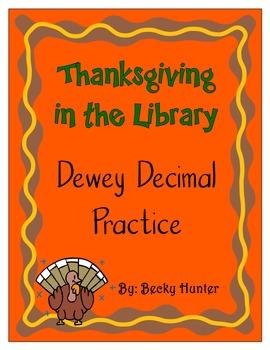 Dewey Decimal Thanksgiving