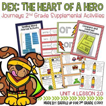 Dex: The Heart of a Hero Supplemental Activities