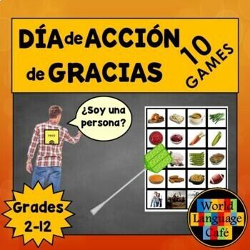 Spanish Thanksgiving Games, Día de Acción de Gracias