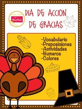 Dia de Accion de gracias -Thanks giving