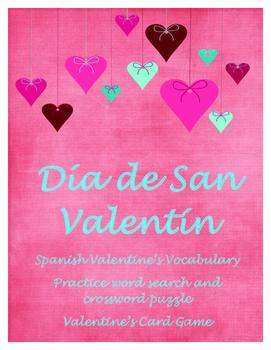 Día de San Valentin- Spanish/English Phrases