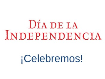 Día de la Independencia PowerPoint Mini-Lesson