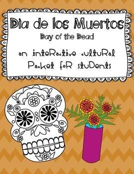 Dia de los Muertos ~ Day of the Dead Mini Activity Packet