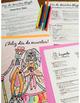 Día de los Muertos Glyph - Read and Color - Beginning / No