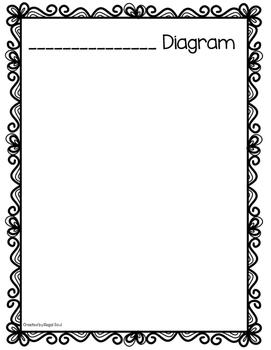 Diagram Drawing Page Freebie