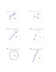 Diagrams for Introducing Circles Vocabulary