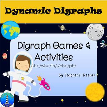 Digraphs CH, WH, TH, SH, and PH: Activities and Game