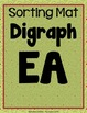 Digraphs: EA, EE, AI, AY, OA, OW {Centers, Mats, Word Card