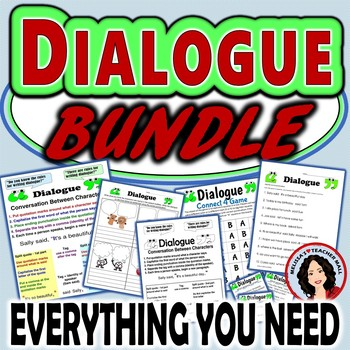 Dialogue Rules, Capitalization and Punctuation Bundle for