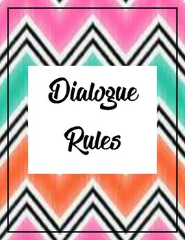 Dialogue Rules