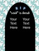 """Dialogue Tags - """"said"""" is dead Halloween- common core tier"""