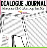 Dialogue Writing Journal {templates - just print & go}