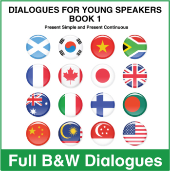 Dialogues for Young Speakers -  Book 1 - Full BW Textbook