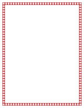 Diamond Border Set (All 14 Colors)