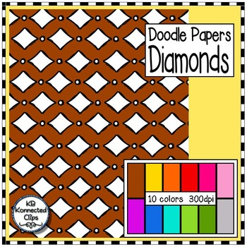 Diamond - Doodle Papers