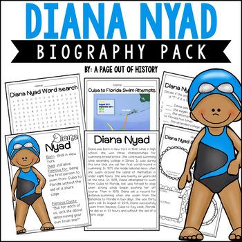 Diana Nyad Biography Pack (Women's History)