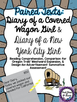 Paired Texts: Diary of a Covered Wagon Girl & NY Girl (Des