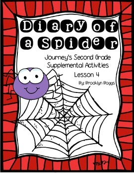 Diary of a Spider Journey's Activities - Second Grade Lesson 4