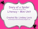 Diary of a Spider- Literacy Mini Unit