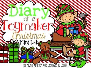 Santa's Workshop Comprehension Interactive Book