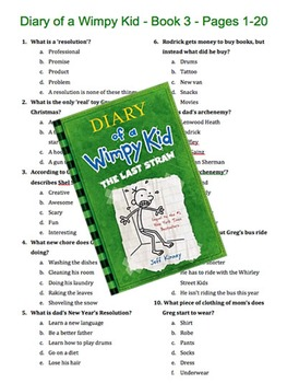 Diary of a Wimpy Kid - Book 3 - The Last Straw - Multiple
