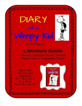 Diary of a Wimpy Kid - Literature Guide