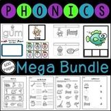 A CCSS First Grade MEGA Bundle for Phonics and Phonemic Awareness