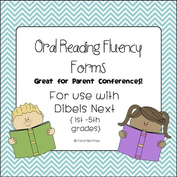 Dibels Next Oral Reading Fluency Forms {Great for Parent C