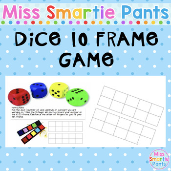 Dice 10 frame game