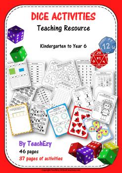 Dice Activities Teaching Resource