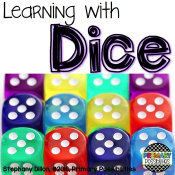 Dice Activity Printables for First Grade {Ready, Set, Print!}