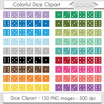 Dice Clip Art Game Dice Clipart Rainbow Board Game Playing
