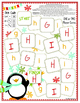 Dice Code Winter Penguin Alphabet Game Boards Aa-Zz!
