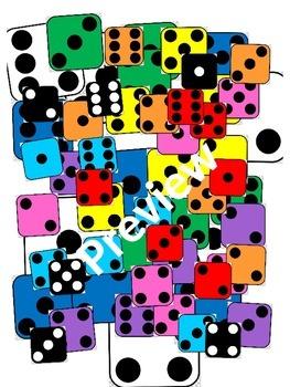 Dice - Colored