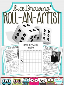 Dice Drawing: Roll-an-Artist