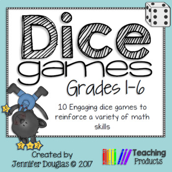 Dice Games - 10 engaging math games