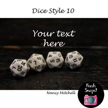 Dice Style 10
