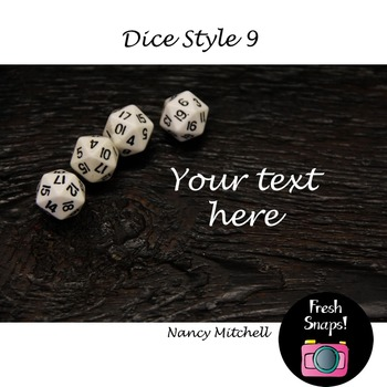 Dice Style 9