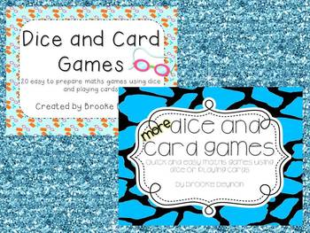 Dice and Card Games - THE BUNDLE
