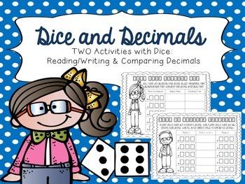 Dice and Decimal Fun