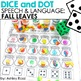 Dice and Dot for Speech and Language Seasons GROWING BUNDLE